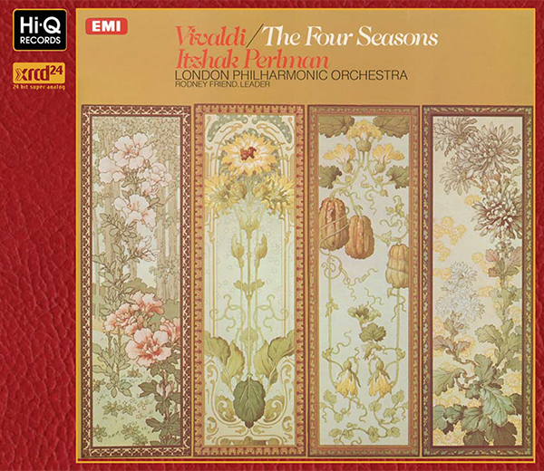 Vivaldi : Four Seasons, Op.8 / Itzhak Perlman (Violin & Conductor)
