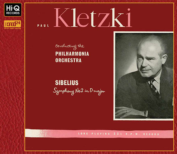 Sibelius : Symphony No.2 in D major, Op.43 / Paul Kletzki (Conductor)
