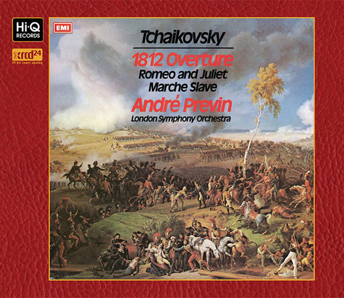 """Tchaikovsky :  Overture """"1812″"", Op.49 Marche Slave, Op.31 Romeo & Juliet – Fantasy Overture"" / Andre Previn (Conductor)"