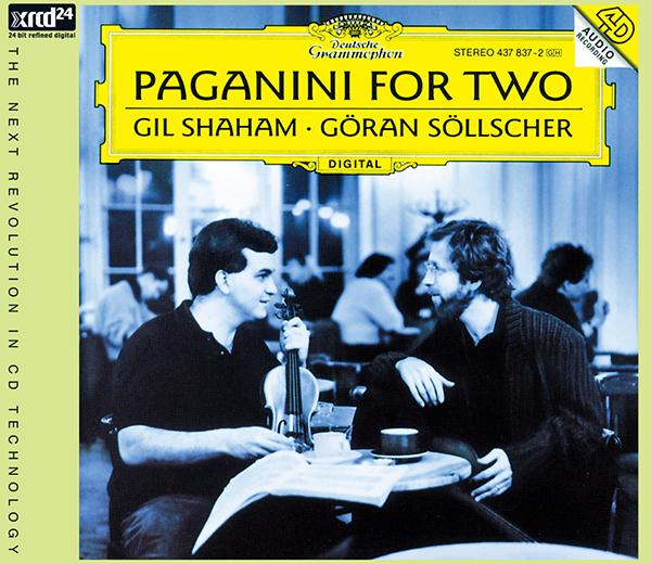 Paganini For Two / Gil Shaham and Göran Söllscher