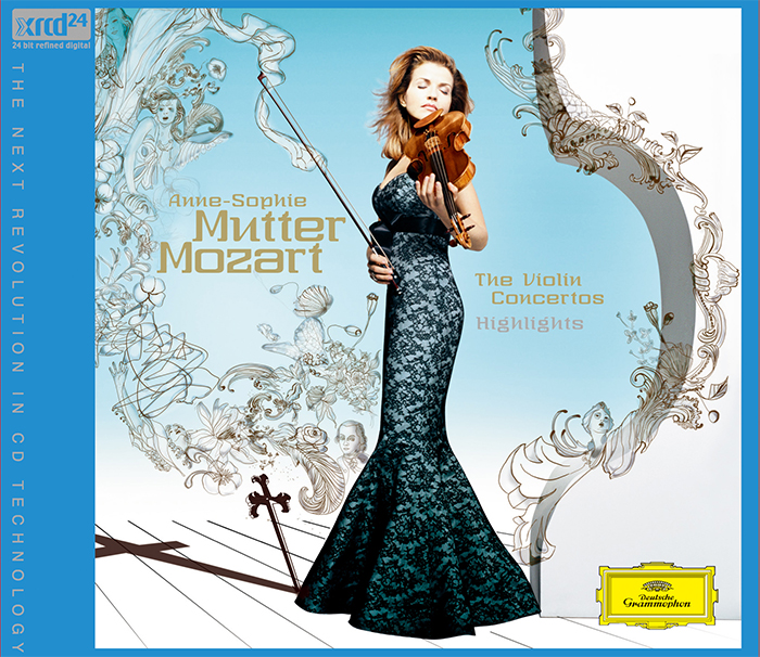 Mozart The Violin Concertos Highlights / Anne-Sophie Mutter