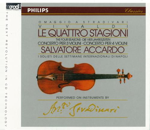 Vivaldi : Four Seasons, Op.8 / Salvatore Accardo (Violin),I Solisti Delle Settimane Internazionali Di Napoli