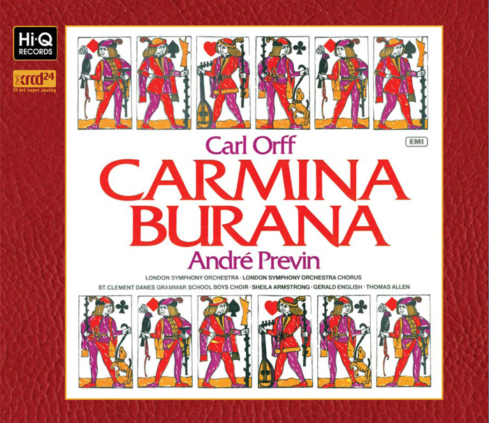 Carl Orff CARMINA BURANA / André Previn(Conductor)