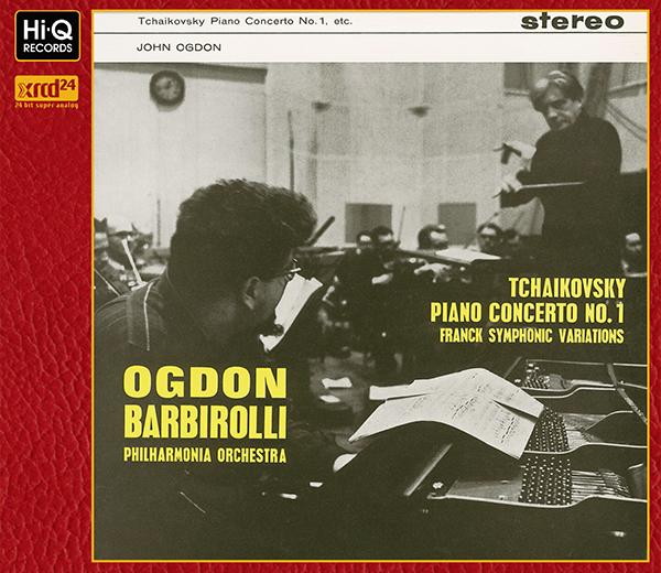 """Tchaikovsky : Piano Concerto No.1 in B flat minor, Op.23 Franck : Symphonic Variations"" / Sir John Barbirolli (Conductor)"
