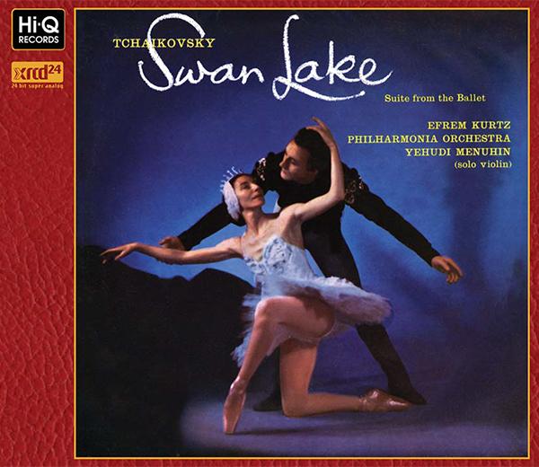 """Tchaikovsky : """"Le Lac Des Cygnes"""" (""""SWAN LAKE""""), Op.20 Ballet Suite / Yehudi Menuhin, Efrem Kurtz, Philharmonia Orchestra"""