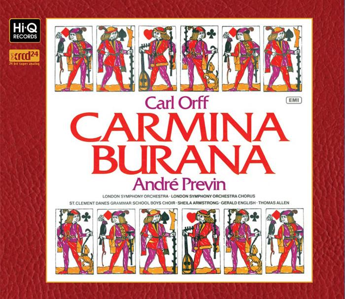 オルフ「カルミナ・ブラーナ」/ アンドレ・プレヴィン指揮ロンドン交響楽団